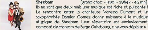 Concert Sheebam