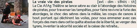 La vraie vie des pirates