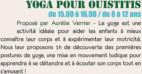 Yoga pour Ouistitis