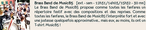 Brass Band de Music85