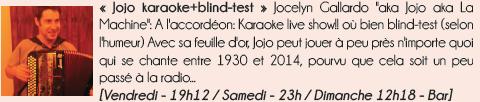 Jojo karaoke