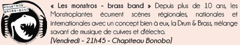 Les Monstros brass band